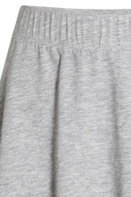Bell-shaped skirt - Grey marl - Ladies | H&M 3
